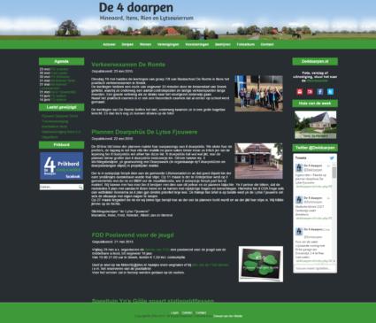 Website De 4 doarpen