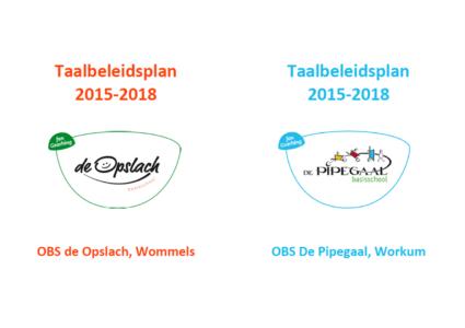 Taalbeleidsplannen de Opslach Wommels en de Pipegaal Workum